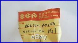 Nos Oem Suzuki Gt550 L Model Front Wiring Harness 36610-34100