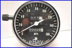 Nos Oem Suzuki Speedometer Speedo 34100-31610 1972 Gt750 Lemans