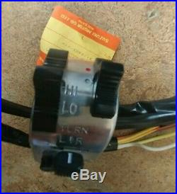 Nos Oem Suzuki Ts400 73-77 Left Handle Switch Assembly Lh Horn Turn 57700-32630