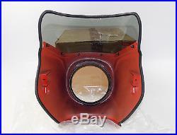 Nos Suzuki 1984 1985 1986 1988 Gs450 Red Fairing Cowling Screen 94500-44450-07p