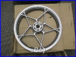 Nos Suzuki Gs400 Gs450 Gs425 Gs Front Wheel Grey