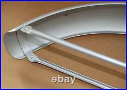 Nos Vintage Suzuki Silver Painted Front Fender! A70 A100 B100 T20 X6