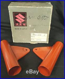 Oem Nos Genuine Suzuki Headlight Brackets 1968 Suzuki T500 Part # 51540-15010