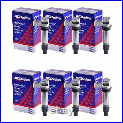 Set of 6 AcDelco Ignition Coil BS-C1555 For Cadillac Saab Chevrolet GMC 07-17