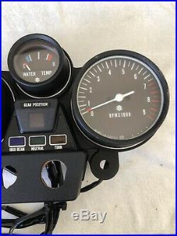 Suzuki 1974 GT750 Brand New NOS Speed Tacho Water Temp Gauge