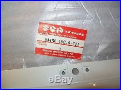 Suzuki 1989 GSXR750 LEFT LOWER FAIRING COWL NOS DISC. 94480-18C10-7JJ 18C40
