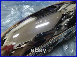 Suzuki 2strokes TS125 TS185 TS250 Chrome Front Fender 21 NOS
