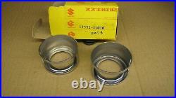 Suzuki 51552-11010 Nos T500 Cobra 1968 68 Stem Fork Trim Rings Covers T20