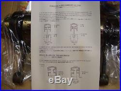 Suzuki 72-77 GT750 GT 750 LeMans NOS Crankshaft Kit With Pistons OEM 12200-31835