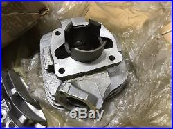Suzuki 73-75 TC100 TS100 Cylinder Head&Cylinder NOS P/N 11210-25600&11111-25600
