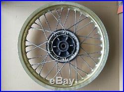 Suzuki DR 350 250 pair used wheel set OEM not NOS rim spoke disk hub 1992 1993