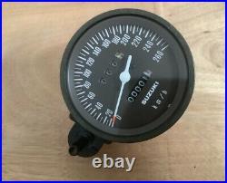 Suzuki GS1000S Wes Cooley GS1000 SN NOS speedometer km/h Very RARE
