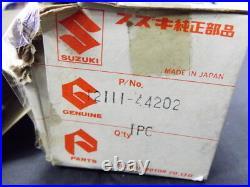 Suzuki GS400 GSX400 Piston STD x2 Katana NOS 12111-44202 Pistons GS400E GSX 400