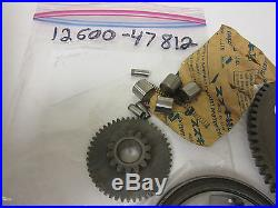 Suzuki GS550 GS550E GS550L nos starter clutch 1977-81 complete! 12600-47812
