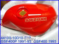 Suzuki GSF400 Fuel Tank 1991-93 NOS GSF400P Bandit 400 Gas Tank 44100-10D10-07P