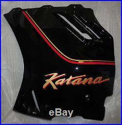 Suzuki GSX1100F Katana Left Lower Fairing Cover NOS 97700-48c60-33j 94480-48b00