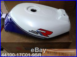 Suzuki GSX-R750 Fuel Tank 1988-90 NOS GSX-R750L Gas Tank 44100-17C01-9SR NEW