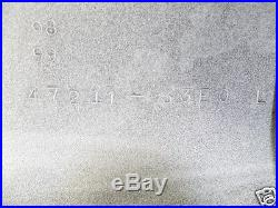 Suzuki GSX-R750 Side Cover L + R 1996-99 NOS GSXR750 Frame Panel 47110-33E30-0JW