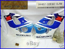 Suzuki GSX-R750 Under Cowling L & R 1996-99 NOS GSXR750 SIDE COVER Lower Fairing