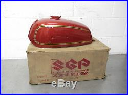 Suzuki GT250 A NOS Gas Petrol tank 44110-018670 Free UK postage AP