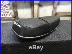 Suzuki GT250 Seat Nice Original Suzuki GT250 Seat Suzuki GT250 Seat Maybe NOS
