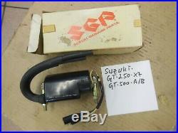 Suzuki GT250 X7 GT500 A B Zündspulenpaar NOS Neu Original ignition coil