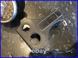 Suzuki GT250 X7 X5 Speedometer Tachometer Clocks with NOS bracket