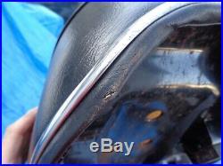 Suzuki GT380 seat nos with brackets chrome trim