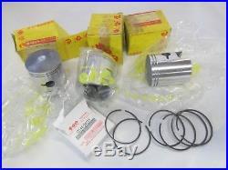 Suzuki GT550 nos standard piston and ring set 1972-1977 12110-34000