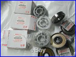 Suzuki GT750 nos main bearing and seal set 1972-1977