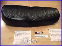 Suzuki Gt380 Gt550 74-77 Dual Seat Nos New Pt No 45100-33x00-865 Has Metal Base