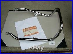 Suzuki Gt750 1972 Rear Chrome Grab Rare Nos