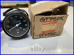 Suzuki Gt750 K Lma 73-76 Nos Speedometer In Box Pt No 34100-31612-999 New