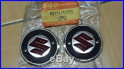 Suzuki K125 69 TC305 69-72 T500 Fuel Tank Emblem NOS Genuine JP P/N 68111-15001