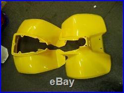 Suzuki Lt50 New Old Stock Front And Rear Panel, Plastics New Yellow Mud Guards