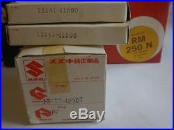 Suzuki NOS RM250-N 1979 PISTON SET STD P/N 12110-40300 #4