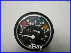 Suzuki NOS TC100, TS100, 1973, Speedometer Assembly, # 34100-25611-999 S22