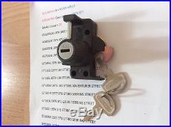 Suzuki Nos Gt185 Gt380 Gt550 Gt750 Re5 Gs425 Gs550 Gs750 Gs1000 Seat Lock New