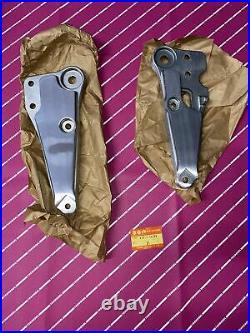 Suzuki Oem Nos Gsx 1100 1980 1981 Left Right Muffler Bracket 43811/43821-49200