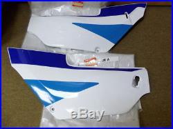Suzuki RG125 Side & Frame Cover Set L & R NOS RG 125 Gamma Fairings PANEL 30H