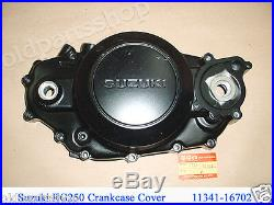 Suzuki RG250 Crankcase Cover NOS 250 GAMMA Clutch Cover 11341-16702 CRANK CASE