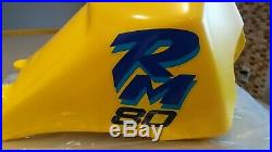 Suzuki RM80 1990 Fuel tank Nos 44100-02890-25Y