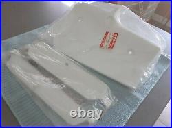 Suzuki RM80 1991/92 Radiator Shroud/Louvers Set Combo White NOS 17761-20931-30H