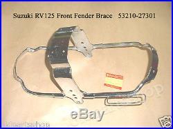 Suzuki RV125 Front Fender Brace NOS RV 125 MUD GUARD BRACKET 53210-27301 Van Van