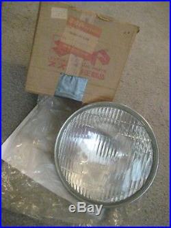 Suzuki Re5m Rotary Headlight Assembly 1975 Nos