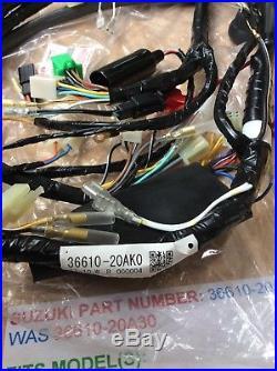 Suzuki Rg500 Rg400 Nos Wiring Harness / Loom New In The Bag Pt No 36610-20ak0