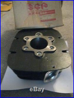 Suzuki Rm125m Engine Cylinder 1975 Nos