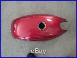 Suzuki T200 X5 Invader Fuel Tank Candy Red Nos