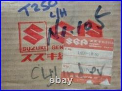 Suzuki T250 Left hand Cylinder New NOS Part No. 11220-18100