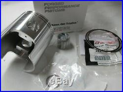 Suzuki T350 nos 1ST over piston and ring set 1969-1972 Wiseco 61.50 mm